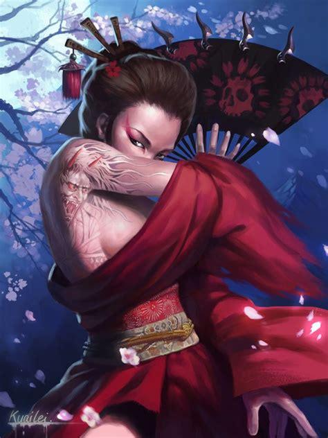 fantasy geisha jpg 750x1000