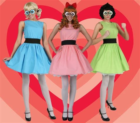 The powerpuff girls homemade costume and makeup ideas jpg 625x553